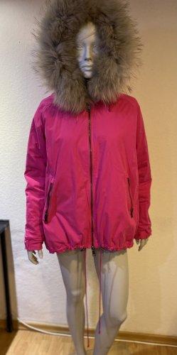 Blonde No. 8 Podwójna kurtka różowy Poliester