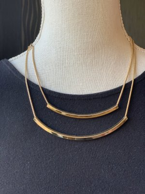 Claires Collier Necklace gold-colored