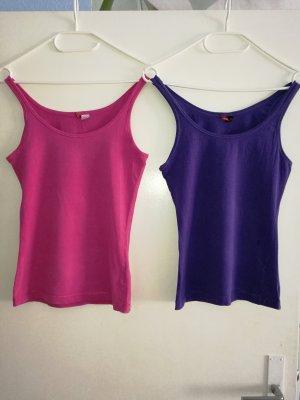 Doppelpack oder Einzeln T - Shirt Top von H&M