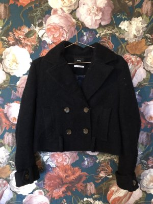 BDG Short Jacket dark blue