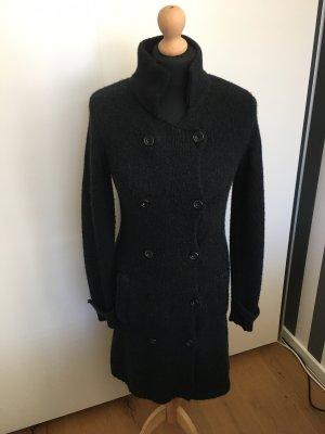 René Lezard Knitted Vest anthracite