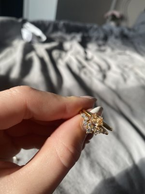 SAFIRA Bague en or doré