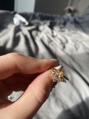 SAFIRA Złoty pierścionek złoto