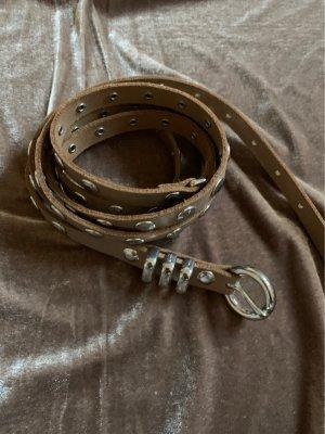 Cintura fianchi argento-beige