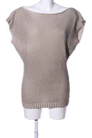 Dori Made in Italy Kurzarm-Bluse wollweiß Casual-Look