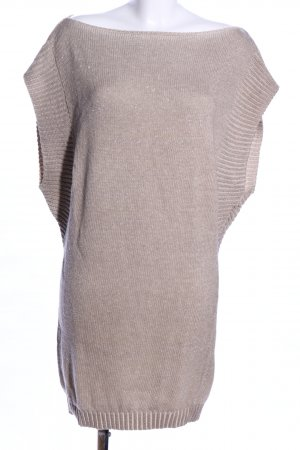 Dori Made in Italy Longpullunder wollweiß meliert Casual-Look