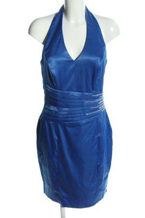 Doridorca Neckholderkleid blau extravaganter Stil