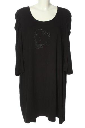 Doris Megger Jerseykleid schwarz Casual-Look