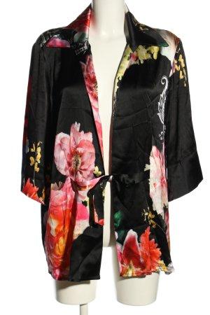 Doris Megger Kimono-Bluse Blumenmuster Casual-Look