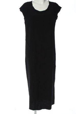 Doris Streich Kurzarmkleid schwarz Casual-Look