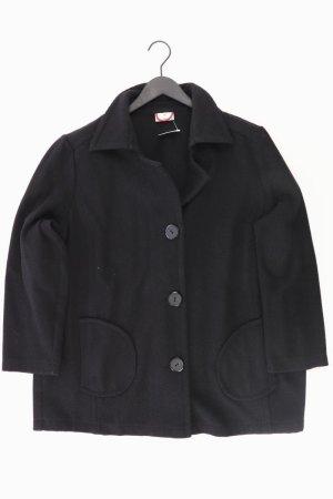 Doris Streich Mantel schwarz Größe 48