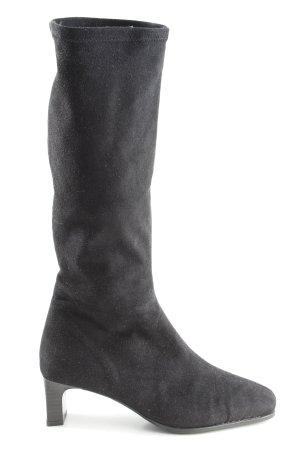 Dorndorf High Heel Stiefel schwarz Elegant