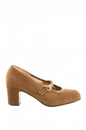 Dorndorf Mary Jane Pumps braun Casual-Look
