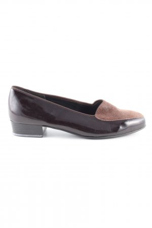 Dorndorf Backless Pumps black-brown casual look