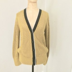 Dorothee Schumacher Cardigan all'uncinetto giallo scuro-nero Lana