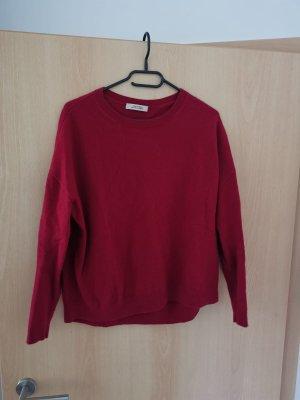 Dorothee Schumacher Kaszmirowy sweter malina