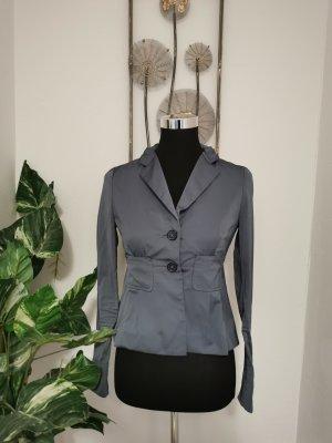 Dorothee Schumacher Damen Blazer Jacket silbergrau Größe 2