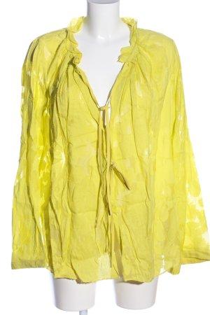 Dorothee Schumacher Hemd-Bluse blassgelb Casual-Look