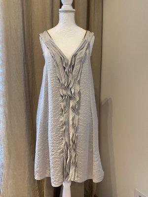 Dorothee Schumacher Kleid silber-grau