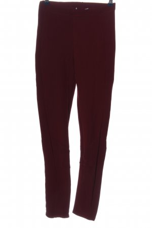 Dorothee Schumacher Leggings rot Streifenmuster Casual-Look
