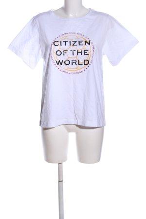 Dorothee Schumacher Print-Shirt weiß Motivdruck Casual-Look