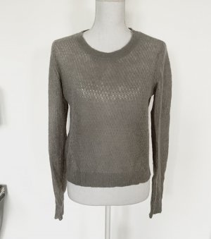 Dorothee Schumacher Wool Sweater light grey-grey mohair