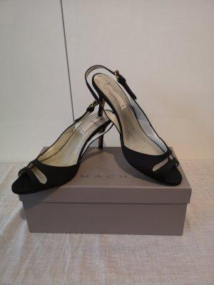 Dorothee Schumacher Strapped Sandals black silk