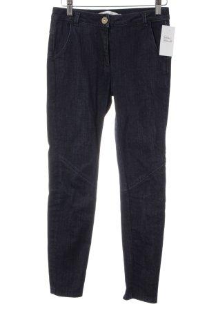 Dorothee Schumacher Skinny Jeans dunkelblau meliert Casual-Look