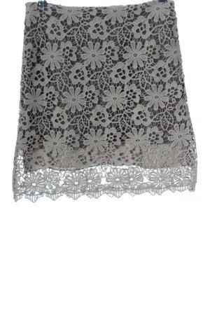 Dorothee Schumacher Gonna di pizzo grigio chiaro motivo floreale stile casual