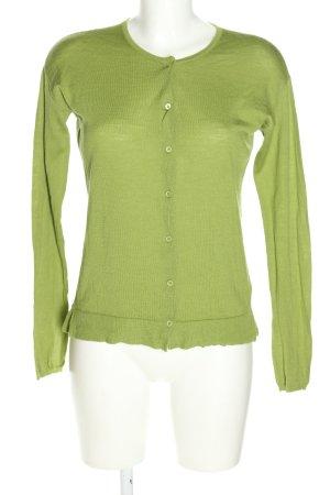 Dorothee Schumacher Strick Cardigan grün Casual-Look