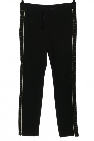 Dorothee Schumacher Sweat Pants black-white striped pattern casual look