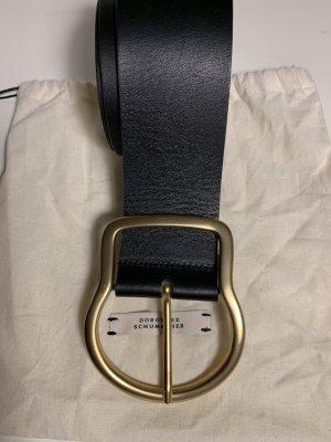 Dorothee Schumacher Waist Belt black leather