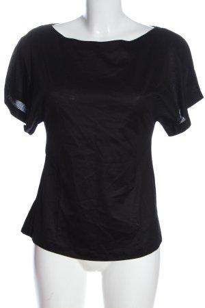 Dorothee Schumacher U-Boot-Shirt schwarz Casual-Look