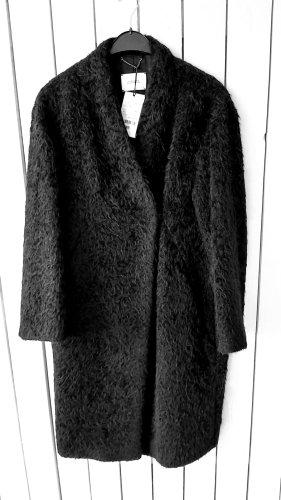 Dorothee Schumacher Woll Mantel Grösse 36/38 schwarz Neu m. Etikett