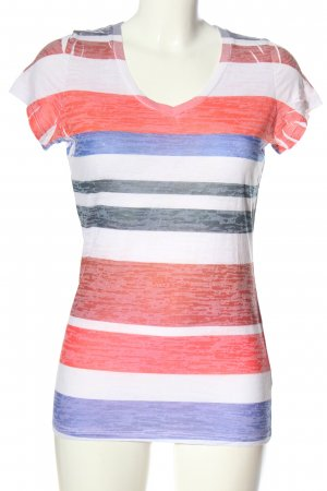 Dorothy Blue Stripe Shirt flecked casual look