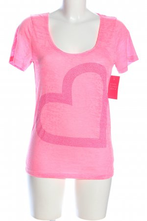 Dorothy Blue T-Shirt pink meliert Casual-Look