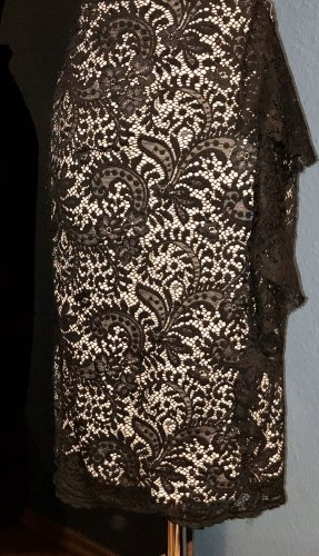 Dorothy Perkins Lace Skirt black-nude