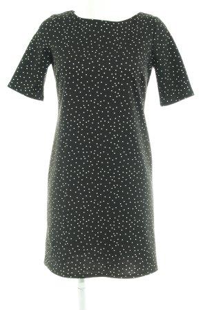 Dorothy Perkins A-Linien Kleid schwarz Punktemuster Casual-Look