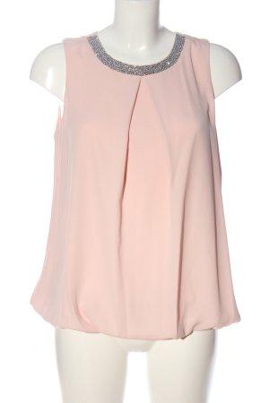Dorothy Perkins ärmellose Bluse pink Glitzer-Optik