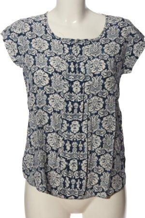 Dorothy Perkins ärmellose Bluse blau-hellgrau Mustermix Casual-Look