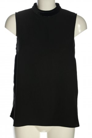 Dorothy Perkins ärmellose Bluse schwarz Casual-Look