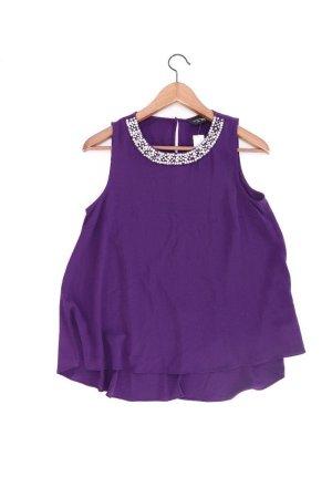 Dorothy Perkins Ärmellose Bluse Größe 36 lila aus Polyester