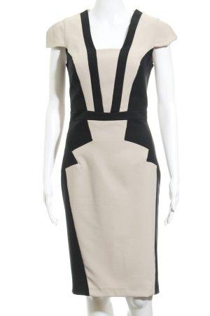 Dorothy Perkins Bleistiftkleid beige-schwarz Elegant