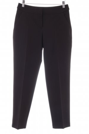 Dorothy Perkins Bundfaltenhose schwarz Business-Look