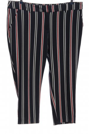 Dorothy Perkins Chinohose Streifenmuster Casual-Look