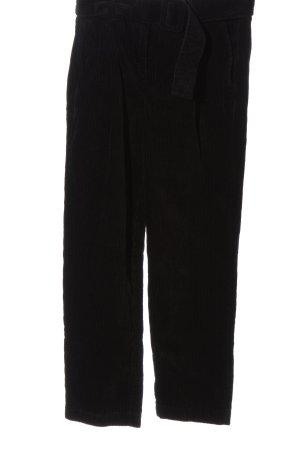 Dorothy Perkins Pantalone di velluto a coste nero stile casual