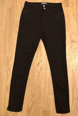 Dorothy Perkins Denim: Jeans High Waist Schwarz Gr. 40 NEU