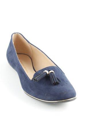Dorothy Perkins faltbare Ballerinas dunkelblau klassischer Stil