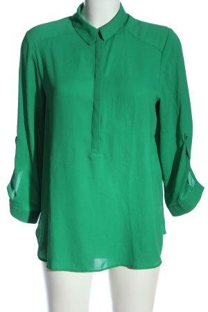 Dorothy Perkins Hemd-Bluse grün Casual-Look