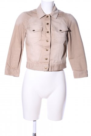 Dorothy Perkins Jeansjacke creme Casual-Look